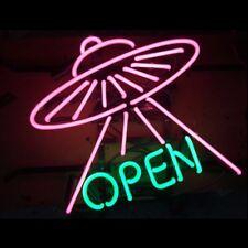 Wall Hanging Handcraft Visual Artwork Neon Sign Light  OPEN Store Bar