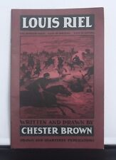 Louis Riel 7th Issue- Chester Brown - Comic