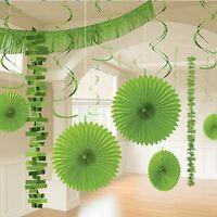 18pk Kiwi Green Room Decorating Kit Birthday Wedding Party Decorations