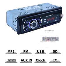 Universal Bluetooth Car Audio Stereo In Dash MP3 Player Radio USB/SD/AUX/MMC