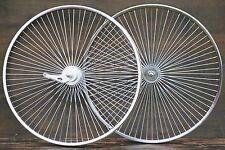 """26"""" 72Spoke Cruiser Bike WHEELS Sram 2Speed Hub Vintage Schwinn Lowrider Bicycle"""