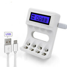 Rechargeable Battery 4 Slots Ulrea Fast Smart Intelligent Battery Usb Charger