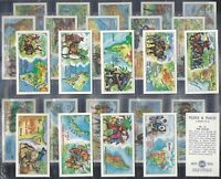 CANDY GUM PLAIN BACK 30 CARDS - EXC -FULL SET- AUTOSPRINT II SERIE ITALY