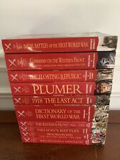 Lot of 10 ~ Paperback Books ~ PEN & SWORD MILITARY CLASSICS ~Very Good Condition