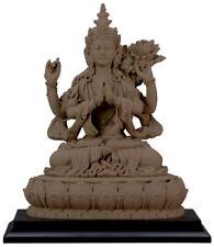 "NEW 6"" Avalokiteshvara Buddha Compassion Statue Figurine Eastern Tibetan 7316"