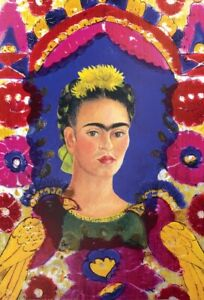 Jigsaw Puzzle Work of Art Ethnic Mexican Frida Kahlo The Frame 1000 piece NEW