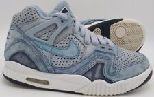 Nike Air Tech Challenge 2 Suede Trainers Blue/White 667444 404 UK5.5/US6Y/EU38.5