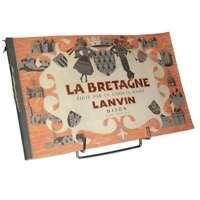 Album La Bretagne ,Chocolaterie Lanvin N°5, complet 1958 (album Français)