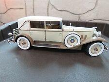 1930  Packard 745 Brewster Hard Top Tan/Coffee 1:18 Signature Die Cast