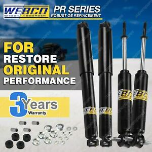 Shock Absorbers Front /& Rear Set HILUX RZN LN SERIES 2WD 97-05 UTE /& CAB