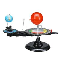 Sistema Solar Globos Sol Tierra Luna Modelo De Planetario Orbital Herramien R1K3
