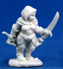 1 x BAILY SILVERBELL - BONES REAPER figurine d&d pathfinder jdr halfling 77072