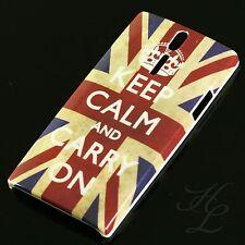 Sony Ericsson LT26i Xperia S Hard Case Schutz Hülle Schale Etui Keep Calm