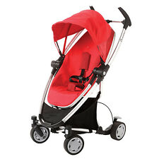 Quinny Zapp Xtra Folding Seat Stroller in Rebel Red New!! Open Box!