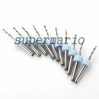 10 x 1.5mm High Quality Carbide PCB Rotary Tools Jewelry CNC Drill Bits Router