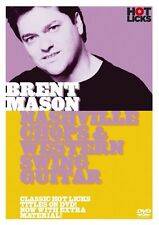 BRENT MASON NASHVILLE CHOPS & WESTERN SWING GUITAR HOT LICKS DVD HOT198 TUTORIAL