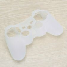 Skin Cover Protective Silicone Case for PS2 PS3 Controller - White BT