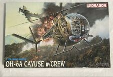 DML Dragon 1:35 NAM Series OH-6 A Cayuse w/ Crew Helicopter Plastic Kit #3310