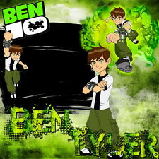 """039 Ben 10 American Animated Series Man of Action 14/""""x26/"""" Poster"""