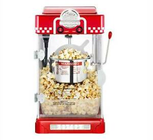 Commercial/Household stainless steel Electric Popcorn Maker Machine 300W 110V