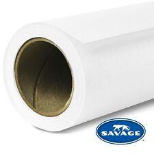 Savage Seamless Background Paper - #66 Pure White (107 in x 36 ft) New