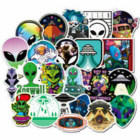 50Pcs ET UFO Skateboard Stickers bomb Vinyl Laptop Luggage Decals Dope Sticker