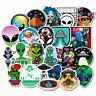 50Pcs ET UFO Skateboard Stickers bomb Vinyl Laptop Luggage Decals Dope Sticker