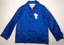 NEW MAN 1924 CARLOS CASTILLO $750 MENS BLUE JACKET COAT SIZE 44R XL