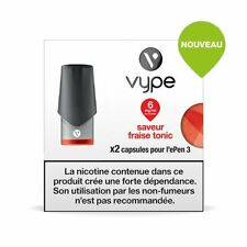 Capsules Vype Epen 3 saveur Fraise Tonic 6 MG