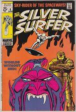 SILVER SURFER #6, MARVEL 1968, VF CONDITION
