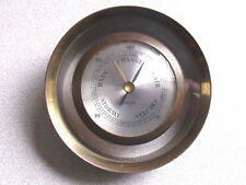 "Endura ""Pan Am"" Brass Barometer"
