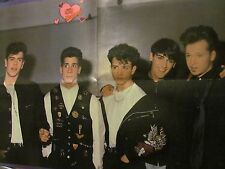 New Kids on the Block, Chad Allen, Double Four Page Foldout Poster
