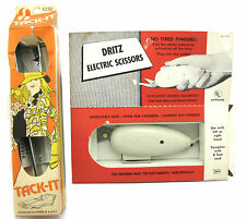 Dritz Electric Scissors and Tack-It Pattern Marker Vintage Sewing Tools