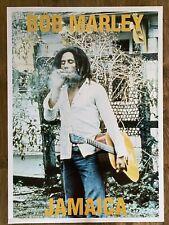 "More details for bob marley poster ""jamaica"" 25"" x 35""mint condition vintage 1st gen print 1995"