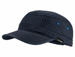 Vaude Mütze CUBA LIBRE OC CAP, Baumwoll-Cap zum Wandern, Trekken und Reisen blau