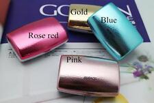 New Fashion Travel Contact Lens Case Soak Storage Box Holder Mirror Tweezer