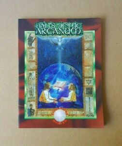 Mage: The Ascension RPG Halls Of The Arcanum Sourcebook White Wolf WW4009