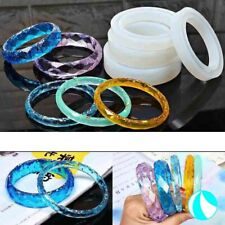Silicone Jewelry Bangle Making Mold Bracelet Resin Casting Epoxy Mould Tool DIY