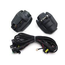 1 Pair Head Light Safety Spot Fog Light w/ Core Line For BMW K1600 R1200GS ADV