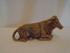 Vintage Fontanini Nativity Plastic Ox