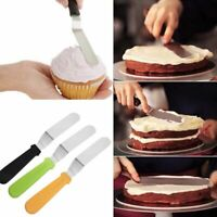Kitchen Stainless Steel Pastry Baking Tool Cake Cream Spatula Butter Scraper