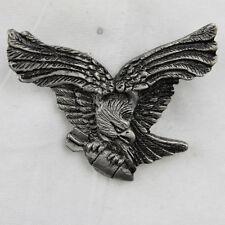 Biker Chopper Black Bird Eagle Aquila Bomb Bomba PIN SPILLA SPILLA NUOVO