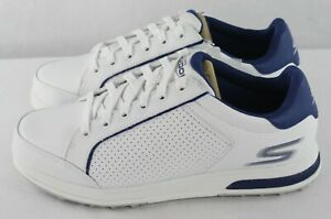 Skechers Go Golf Drive 2 Golf Shoes Men's Size 7.5 Relaxed Fit 54532/WNV White