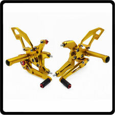 For Ducati 959 Panigale Adjustable Rearsets Foot pegs Rear set Footrest Pedal