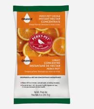 Perky-Pet Orange INSTANT NECTAR 8 oz. Concentrate Sucrose ORIOLE Natural Citrus