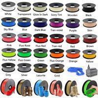3D Printer Filament PLA ABS 1.75mm 1kg 2.2lb For RepRap MakerBot Print Pen Color
