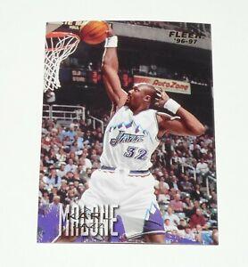 KARL MALONE UTAH JAZZ 1996-1997 NBA BASKETBALL FLEER CARD
