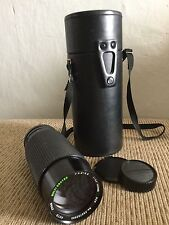 Minolta MD Mount Sears 60-300mm f/4.0-5.6 One-Touch Macro Zoom Lens Used w/CASE