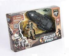 SOLDIER FORCE series VIII SCOUT WITH A WATER SCOOTER Play Set CHAP MEI MIB