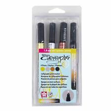 Sakura 47391 PenTouch 1.8mm Fine Calligraphy Nib Shiny Metallic Markers